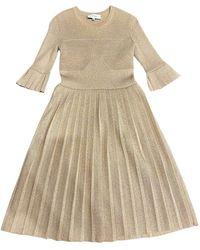 Carven Mid-length Dress - Metallic