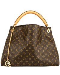 Louis Vuitton Artsy Monogram Mm Canvas Hobo Bag - Brown