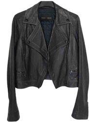 Proenza Schouler Leather Biker Jacket - Multicolor