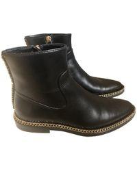 Lanvin - Black Leather - Lyst