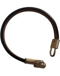 Louis Vuitton Monogram Leder Armbänder - Braun