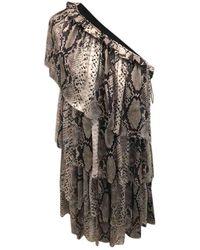 Lanvin - Silk Dress - Lyst