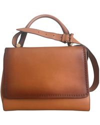 Max Mara Atelier Leather Crossbody Bag - Brown