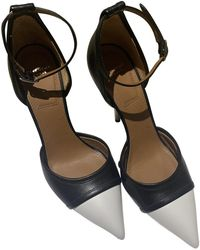 Givenchy Leather Heels - Black