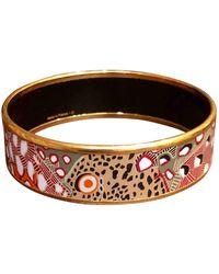 Hermès Bracelet Email Armbänder - Rot