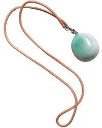 Hermès Jade Necklace - Green