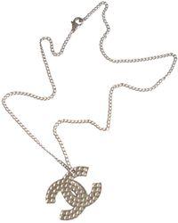 Chanel Silver Metal Pendants - Metallic