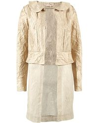 Marni - Pre-owned Beige Cotton Jackets - Lyst