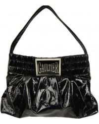 Jean Paul Gaultier - Patent Leather Handbag - Lyst