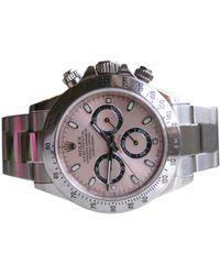 Rolex Pre-owned Daytona Watch - Pink