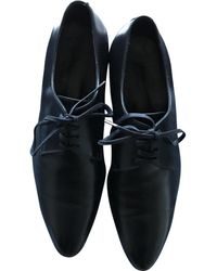 Dior Black Leather Lace Ups