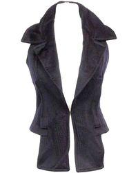 Givenchy Wool Short Vest - Black