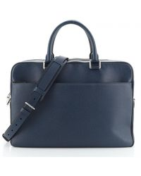Louis Vuitton Leather Handbag - Blue