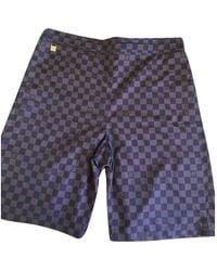 Louis Vuitton Bermudas jeans - Braun