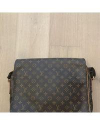 Louis Vuitton Bolsos en lona marrón District