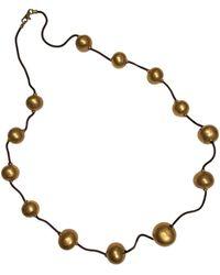 Hermès Gold Necklace - Metallic