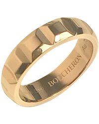 Boucheron Quatre Gold Pink Gold Ring - Multicolor
