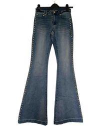 Michael Kors Blue Cotton - Elasthane Jeans