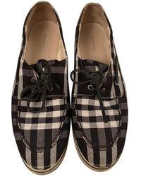 Burberry Cloth Sneakers - Multicolor