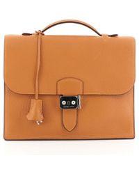 Hermès Leder Handtaschen - Orange