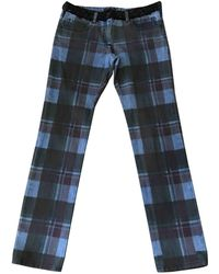 Chanel - Pre-owned Multicolour Denim - Jeans Trousers - Lyst