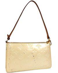Louis Vuitton Pochette in vernice beige Pochette Accessoire - Neutro