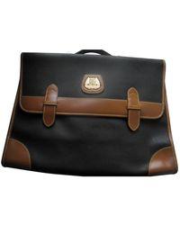 Lancel Bolsa de mano en cuero marrón - Multicolor