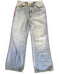 Marc By Marc Jacobs Breite jeans - Blau
