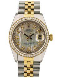 Rolex Oyster Perpetual 34mm Uhren - Weiß