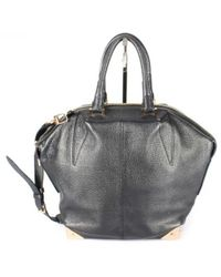 Alexander Wang - Emile Black Leather Handbag - Lyst