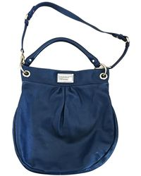 Marc By Marc Jacobs Classic Q Leder Handtaschen - Blau
