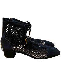 Dior Botines en ante negro Naughtily-D