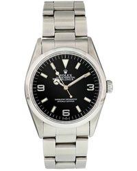 Rolex Explorer 39mm Steel Watches - Metallic