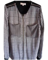 Michael Kors Silk Maxi Dress - Black