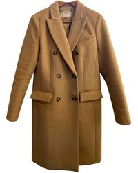 Michael Kors Wool Dufflecoat - Natural