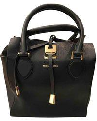 Michael Kors Miranda (collection) Leather Crossbody Bag - Black