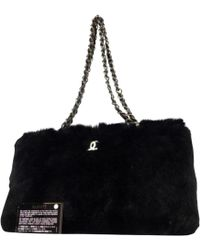 2488b3af80bf Lyst - Alexander Wang Mini Rabbit Fur Rex Bag in Gray