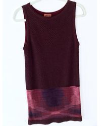 Missoni - Multicolour Wool Dress - Lyst