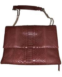 Lanvin Sugar Python Handbag - Multicolor