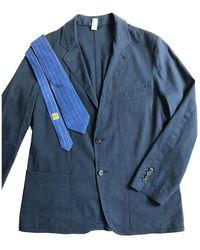 Hermès Linen Suit - Blue