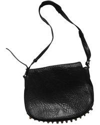 Alexander Wang Lia Leather Crossbody Bag - Black
