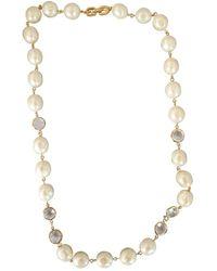 Givenchy Perlen Colliers - Schwarz