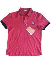 Moncler Poloshirts - Rot