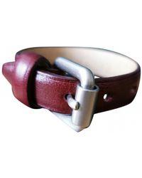 Longchamp Leather Bracelet - Multicolour