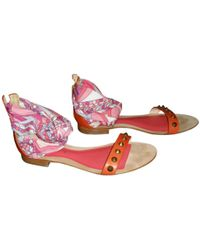 low shipping fee for sale Emilio Pucci Embellished Slide Sandals w/ Tags buy cheap fashionable 9YbAr