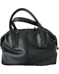 Tod's Leather Handbag - Black
