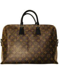 Louis Vuitton Porte Documents Jour Multicolour Cloth Bag