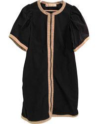Marni - Black Polyester Dress - Lyst