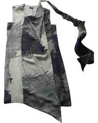 JOSEPH Silk Dress - Multicolour