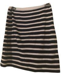 Iris Von Arnim Wool Mini Skirt - Blue
